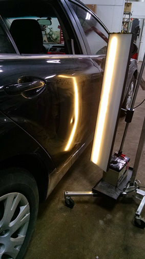 Paintless Dent Removal After Photo